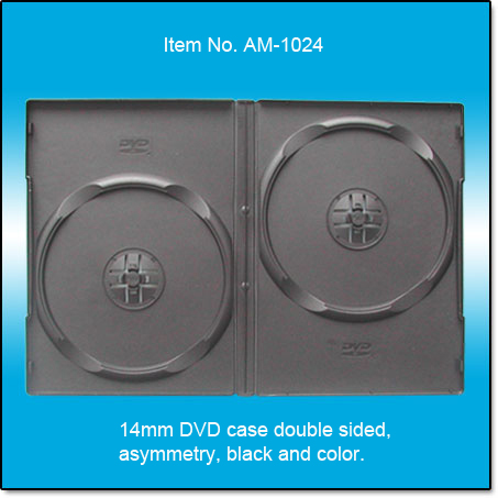 14mm DVD case double sided