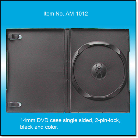 14mm DVD case single sided