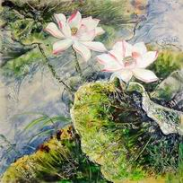 modern oil painting ,floral oil painting