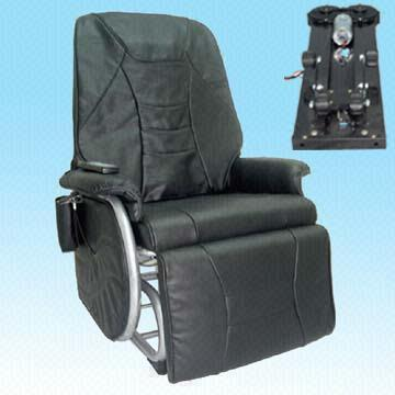 Recliner Chair with Synchronous Ottoman and Chair Movem