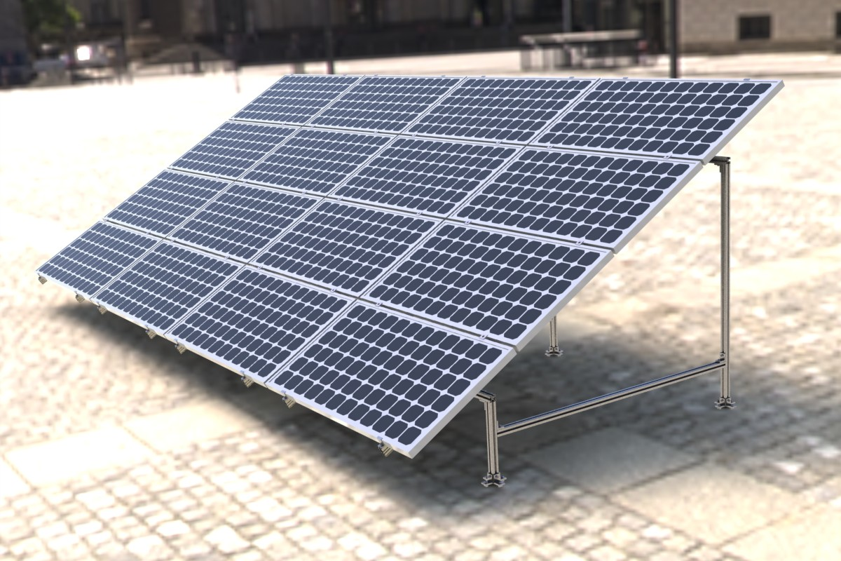 Solar Mounting System Ground Mount System, Solar Mounting System ...