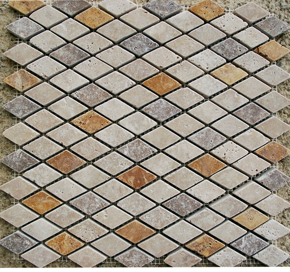 mesh mounted tiles and mosaics