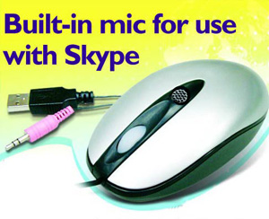 mouse with skype