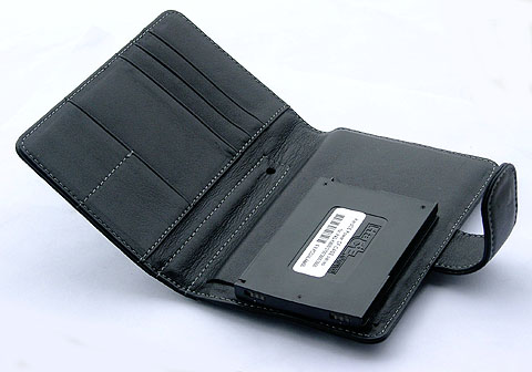 Battery Leather CASE for HP iPAQ hx4700