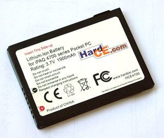 PDA Battery for HP iPAQ hx4700