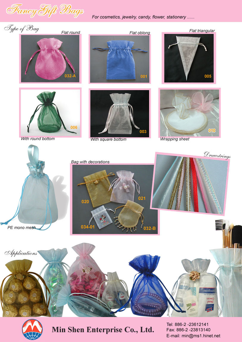 Sell Packaging Pouches(Organza)