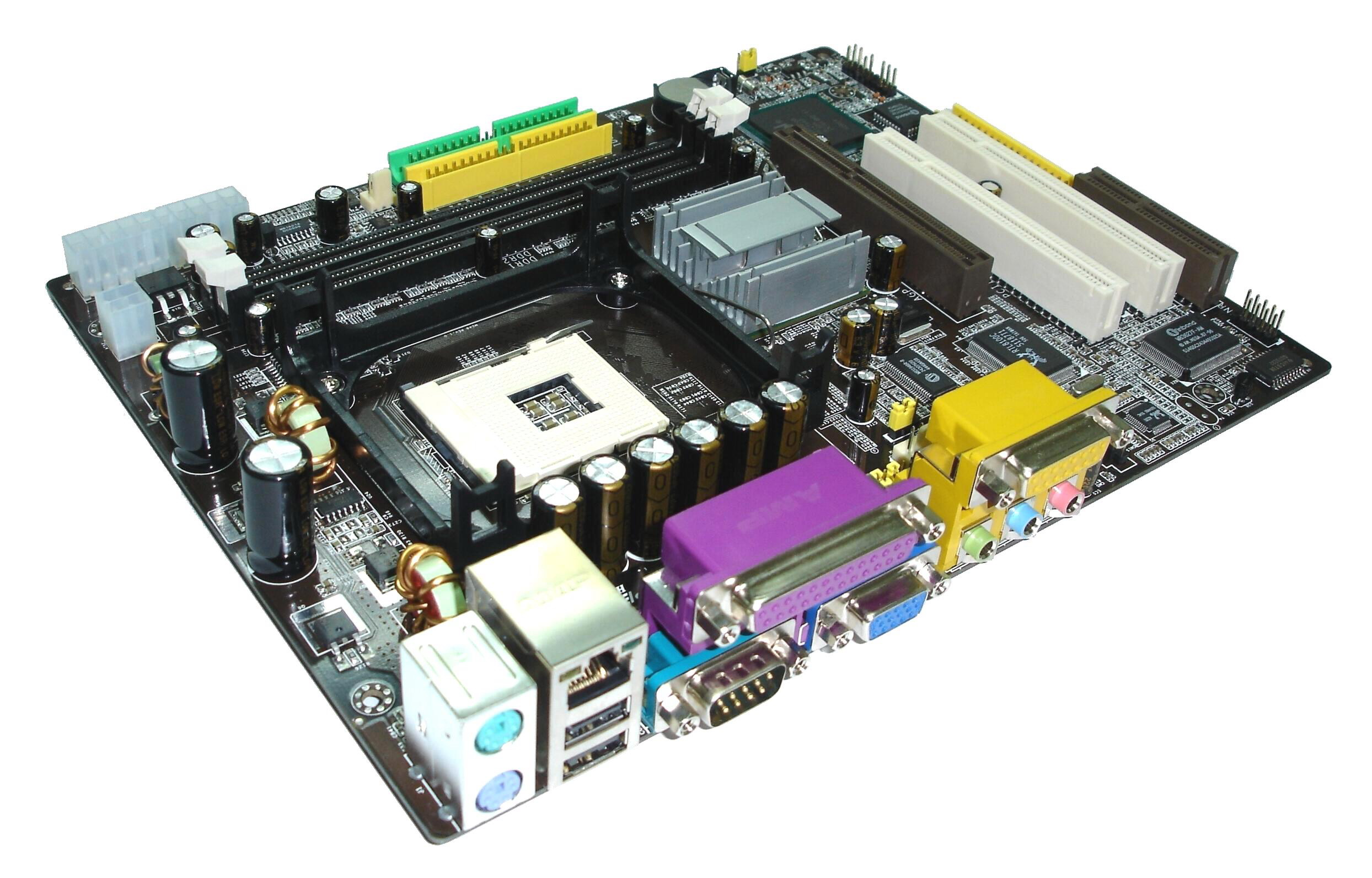 computer motherboard Got a motherboard with blown capacitors here's how to fix it video:.