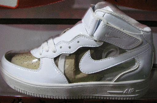 AF1 MID CLEAR SHOES ON SALE