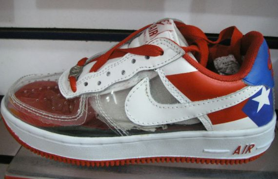 clear air force ones wholesale