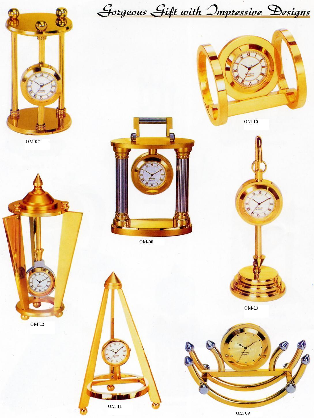 clocks with pen stands